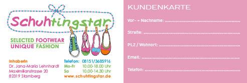 Sternchenkarte quer 2015